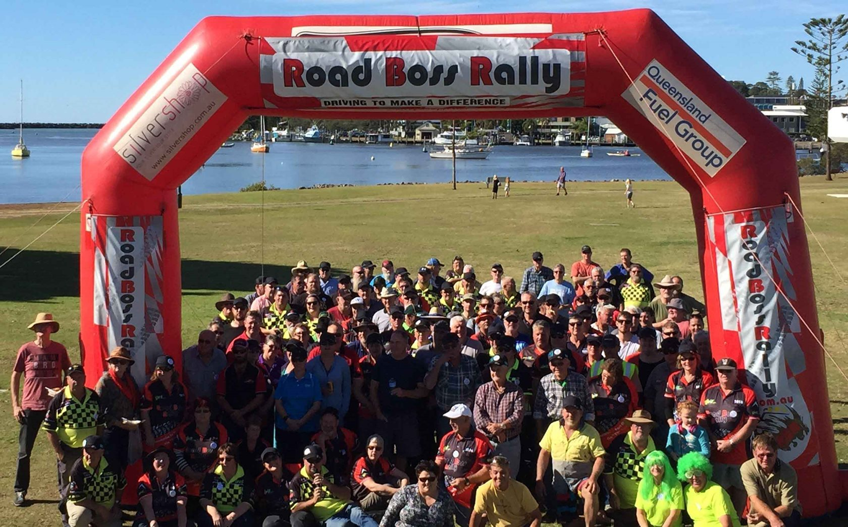 Road Boss Rally smashes fundraising goal!